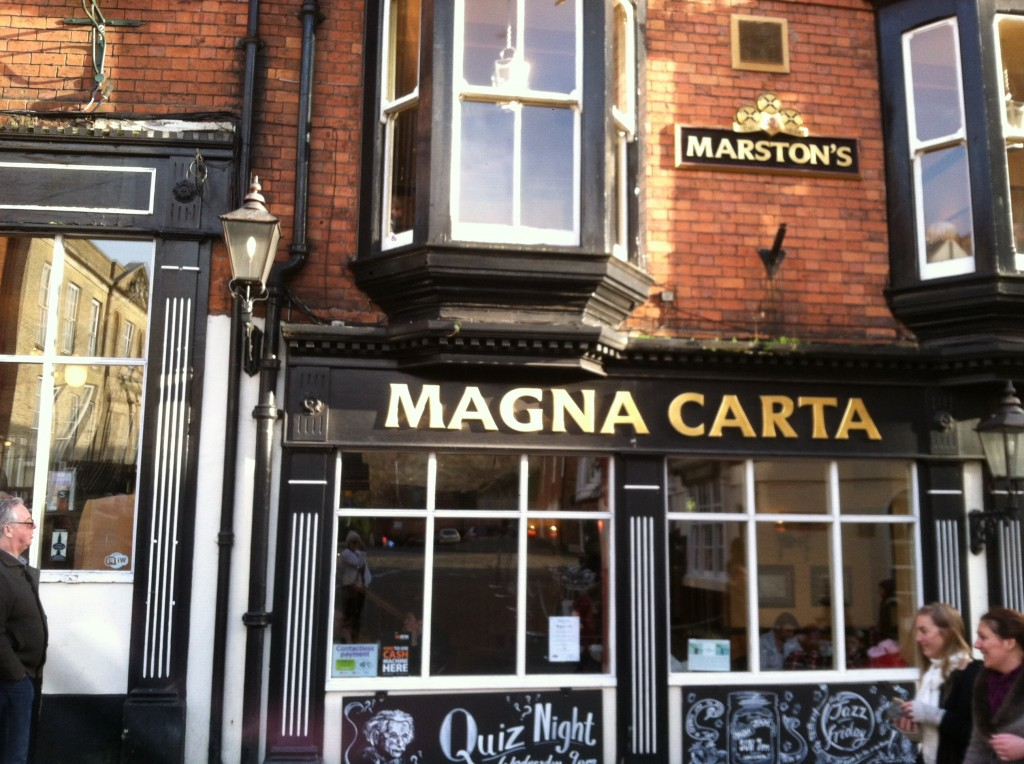 The Magna Carta restaurant