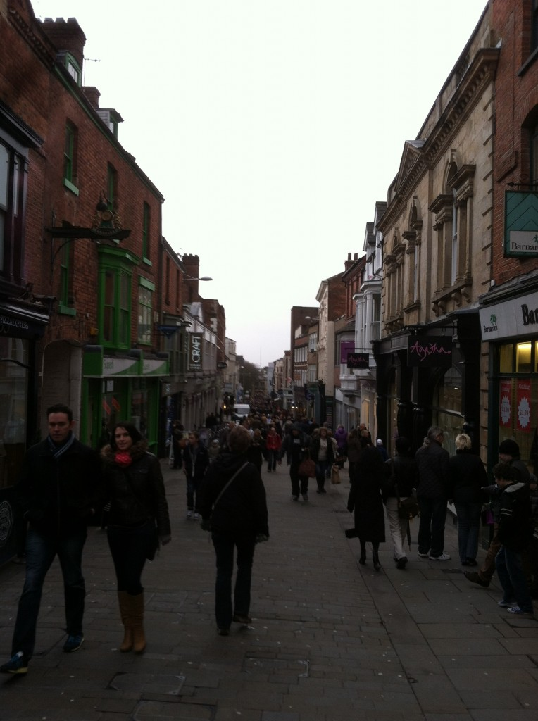The streets of Lincoln