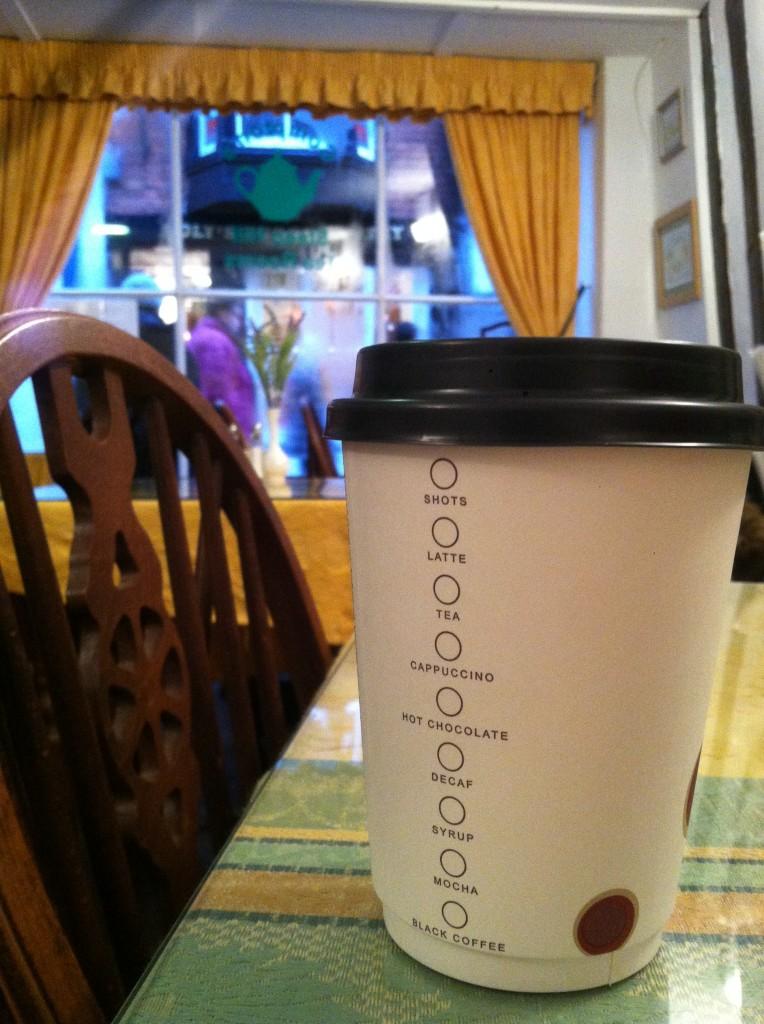 My delicious latte