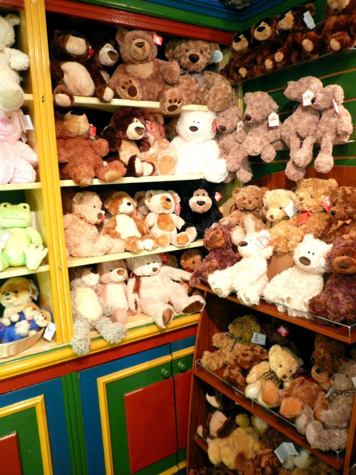 Some of the Teddy Bears to purchase