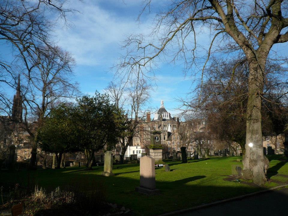 The inspiring graveyard