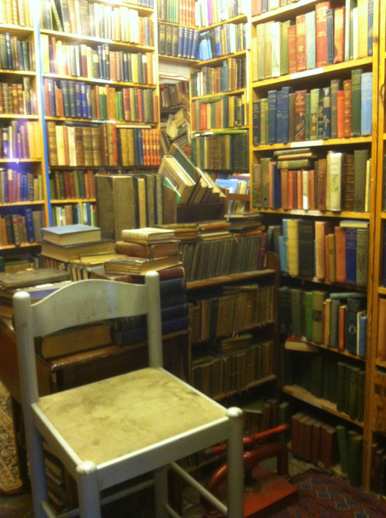 One of the bookshops I visited