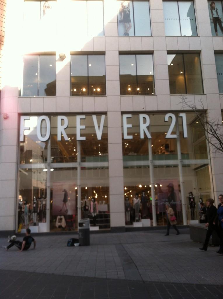The massive Forever 21