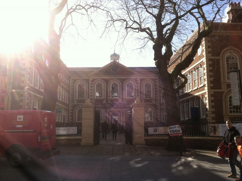the Bluecoat Chambers