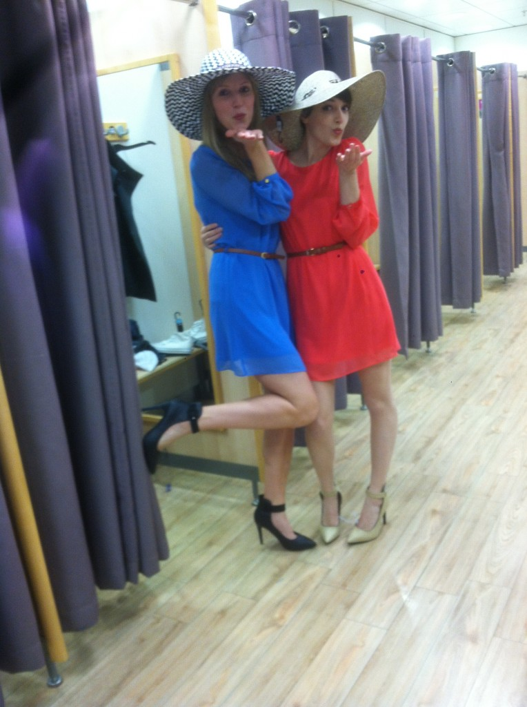 Fun summer dresses and hats