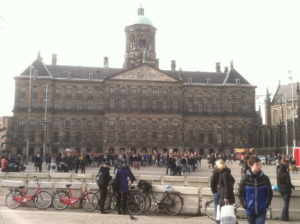 Royal Palace across from Dam square