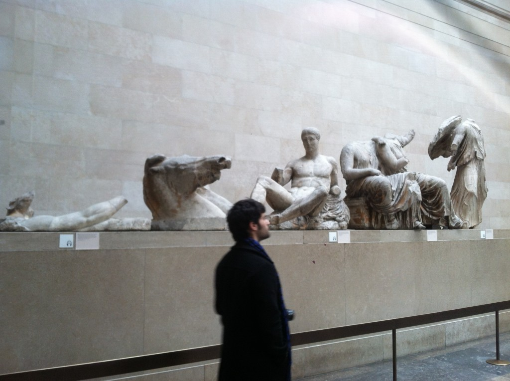 Pieces from the Parthenon
