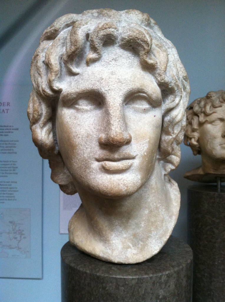 the bust of Alexander the Great