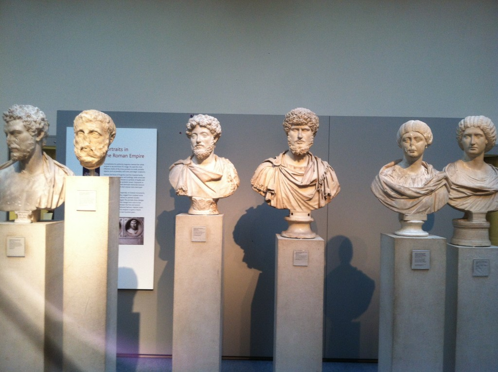 More Roman busts