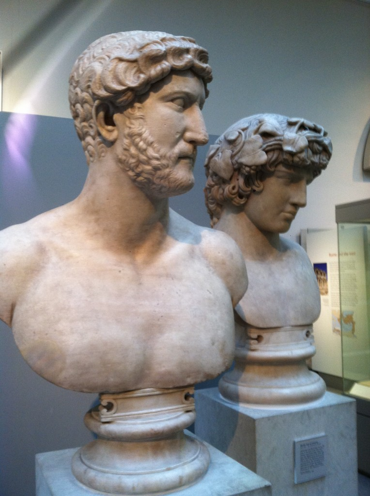 Bust of Hadrian and his lover