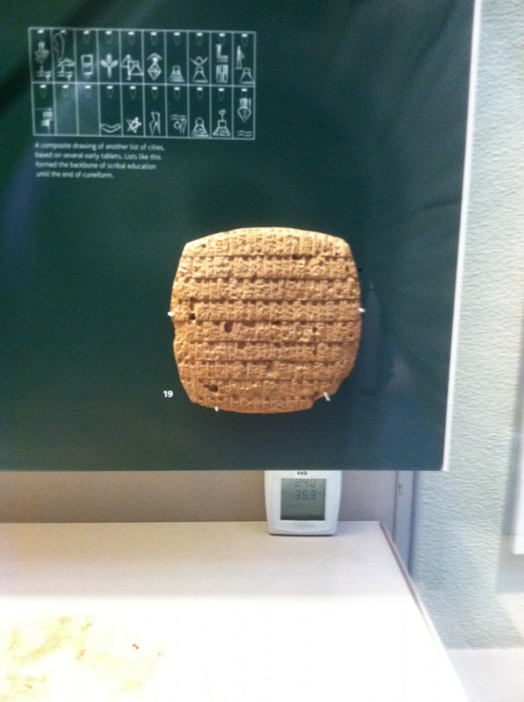 Babylonian Cuniform Clay Tablet